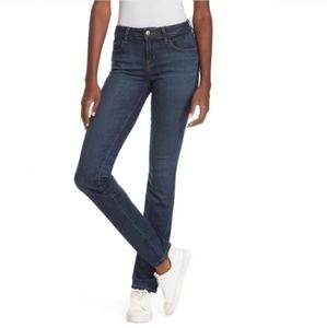 Level 99 | Mid Rise Lily Straight Skinny Jeans